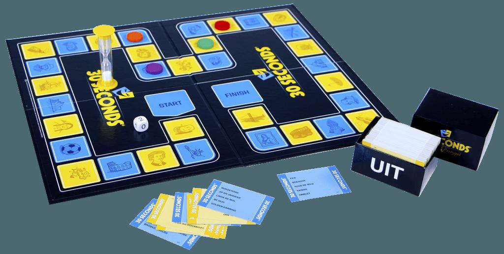 30 seconds speelbord
