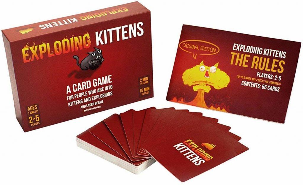 Exploding Kittens Spelmateriaal