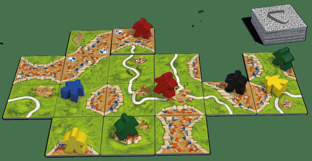 Carcassonne spelmateriaal