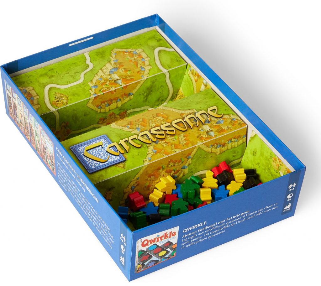 Carcassonne binnenkant doos