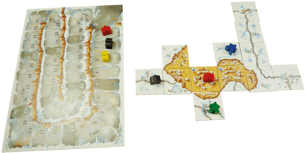 carcassonne wintereditie spelmateriaal