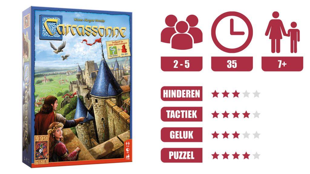 Carcassonne Speleigenschappen