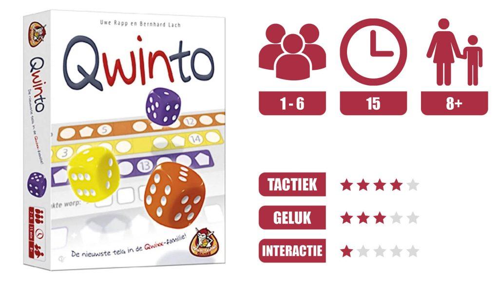 qwinto speleigenschappen