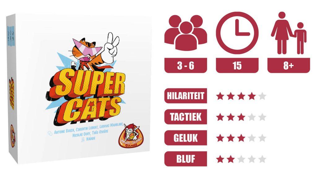 super cats speleigenschappen