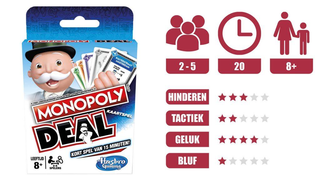 monopoly deal speleigenschappen